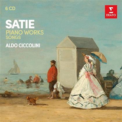 Aldo Ciccolini & Eric Satie (1866-1925) - Klavierwerke / Lieder (6 CDs)