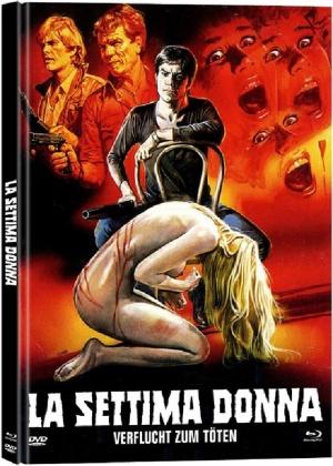 La settima donna - Verflucht zum Töten (1978) (Cover B, Limited Edition, Mediabook, Uncut, Blu-ray + DVD)
