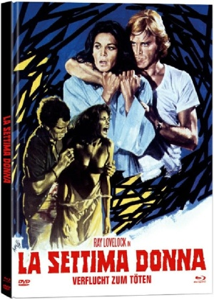 La settima donna - Verflucht zum Töten (1978) (Cover A, Limited Edition, Mediabook, Uncut, Blu-ray + DVD)