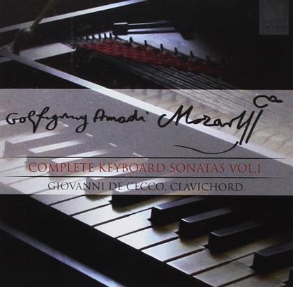 Wolfgang Amadeus Mozart (1756-1791), Wolfgang Amadeus Mozart (1756-1791) & Giovanni De Cecco - Complete Keyboard Sonatas Vol. 1 - Sämtliche Klaviersonaten Vol. 1