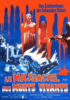 Le massacre des morts vivants - Das Leichenhaus der lebenden Toten (1974) (Cover G, Limited Edition, Mediabook)