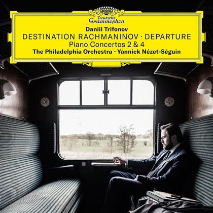 Sergej Rachmaninoff (1873-1943), Yannick Nezet-Seguin, Daniil Trifonov & Philadelphia Orchestra - Klavierkonzerte Nr. 2 & 4 - Destination Rachmaninov - Departure (2 LPs)