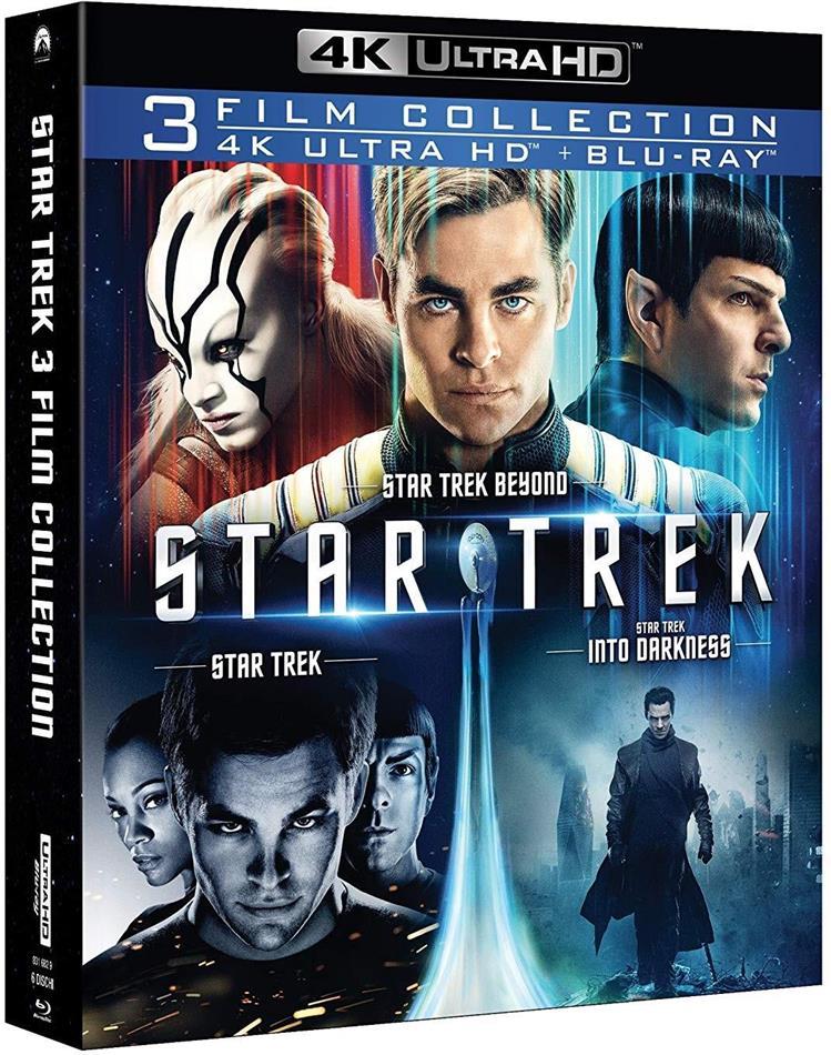 Star Trek - 3-Film Collection (3 4K Ultra HDs + 3 Blu-ray)