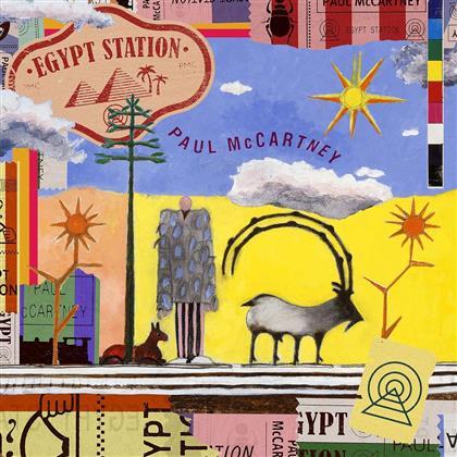 Paul McCartney - Egypt Station (Triple Gatefold, Deluxe Edition, 2 LPs)