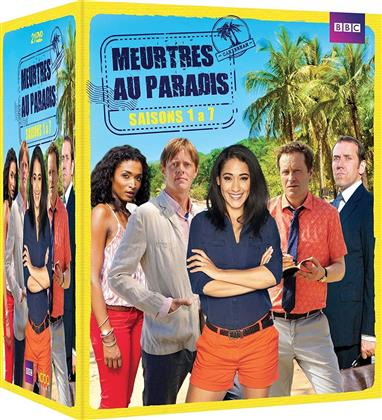 Meurtres au paradis - Saisons 1-7 (BBC, 21 DVDs)