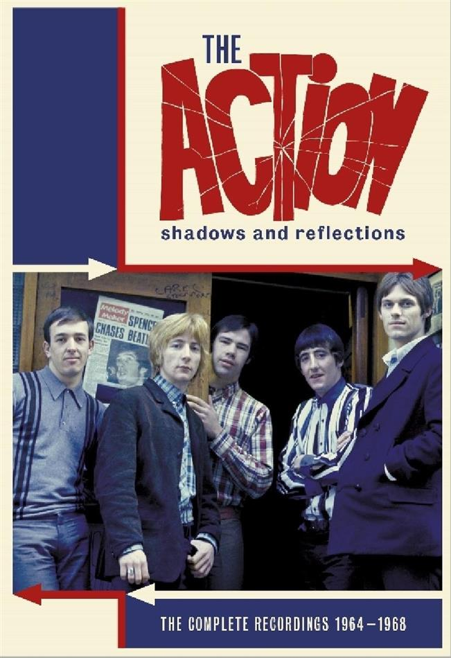 The Action - Shadows And Reflections - The Complete Recordings 1964-1948 (Digibook, 4 CDs)