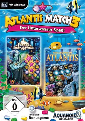 Atlantis Match 3 - Der Unterwasser Spaß!