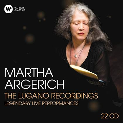 Martha Argerich - The Lugano Recordings 2002-2016 - Boxset (22 CDs)