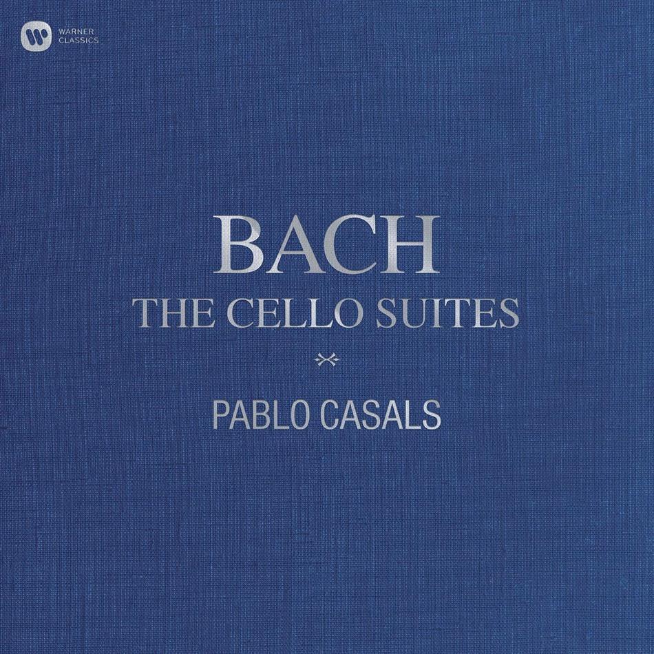 Johann Sebastian Bach (1685-1750) & Pablo Casals (1876 - 1973) - Cello Suites (3 LPs)