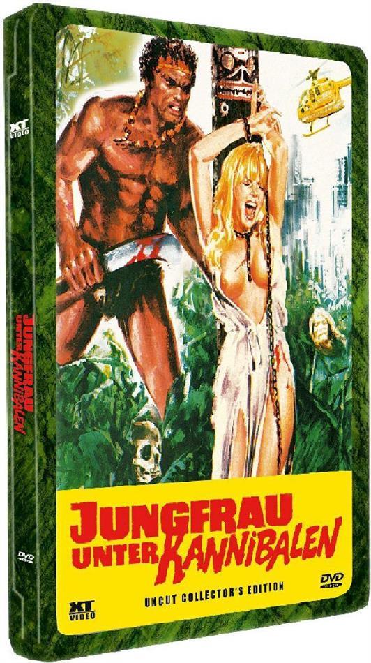 Jungfrau unter Kannibalen (1980) (Lenticular, Collector's Edition, Steelbox, Uncut)