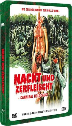 Nackt und zerfleischt - Cannibal Holocaust (1980) (Lenticular, Collector's Edition, Steelbook, Uncut, 2 DVDs)