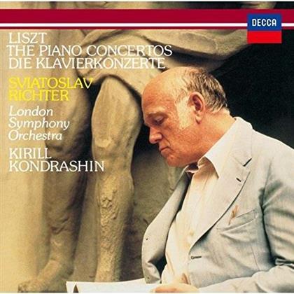Franz Liszt (1811-1886), Kirill Kondraschin, Sviatoslav Richter & London Symphony Orchestra - The Piano Concertos / Die Klavierkonzerte (Limited Edition)
