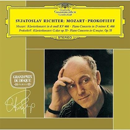 Wolfgang Amadeus Mozart (1756-1791), Serge Prokofieff (1891-1953), Stanislaw Wislocki, Witold Rowicki, Sviatoslav Richter, … - Klavierkonzert Nr.20 d-moll KV 466 & Klavierkonzert Nr. 5 (Japan Edition, Limited Edition)