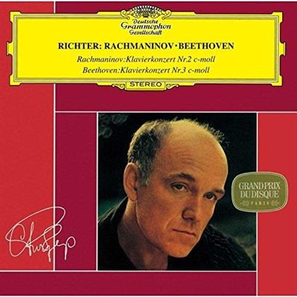 Sergej Rachmaninoff (1873-1943), Ludwig van Beethoven (1770-1827), Stanislaw Wislocki, Kurt Sanderling, Sviatoslav Richter, … - Piano Concerto No. 2 / Piano Concerto No. 3 - Klavierkonzert Nr. 2 / Klavierkonzert Nr. 3 (Japan Edition, Limited Edition)