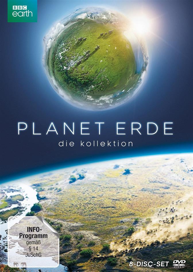 Planet Erde & Planet Erde II (Bookpak, Sammelbox, Limited Edition, 8 DVDs)