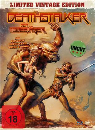 Deathstalker - Der Todesjäger (1983) (Limited Vintage Edition, Mediabook, Uncut, Blu-ray + DVD)
