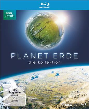 Planet Erde & Planet Erde II (Bookpak, Sammelbox, Limited Edition, 7 Blu-rays)