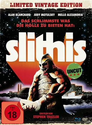 Slithis (1978) (Limited Vintage Edition, Mediabook, Blu-ray + DVD)