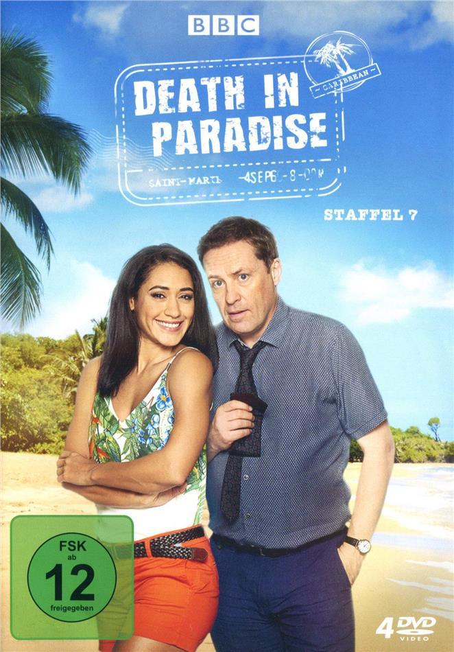 Death in Paradise - Staffel 7 (BBC, 4 DVD)