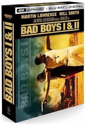 Bad Boys (1995) / Bad Boys 2 (2003) (2 4K Ultra HDs + 2 Blu-rays)