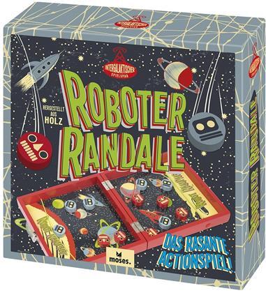Prof Puzzle Roboter Randale