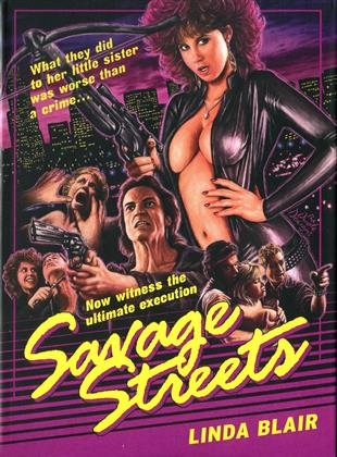 Savage Streets (1984) (Collector's Edition Limitata, Mediabook, Blu-ray + DVD)