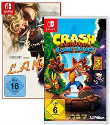 Doppelt hält besser: Crash Bandicoot + L.A Noire