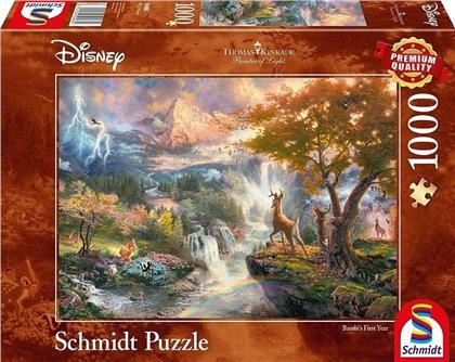 Disney: Bambi - 1000 Teile Puzzle