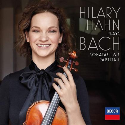 Johann Sebastian Bach (1685-1750) & Hilary Hahn - Violinsonaten Nr. 1 & 2, Partita Nr. 1 (2 LPs + Digital Copy)