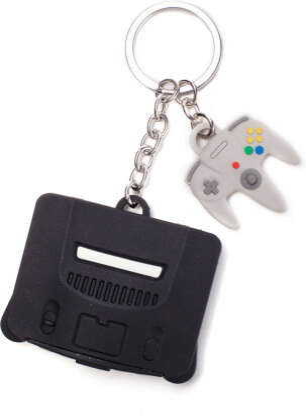 Nintendo - Nintendo 64 & Controller 3D Rubber Keychain
