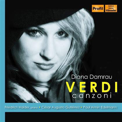 Diana Damrau, Giuseppe Verdi (1813-1901) & Friedrich Haider - Canzoni