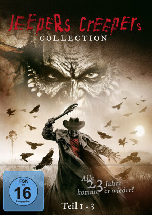 Jeepers Creepers 1-3 - Collection (Limited Edition, 3 DVDs)