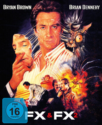 FX 1 & FX 2 (Digipack, Pop-Up Edition, Limited Edition, Uncut, 2 Blu-rays)