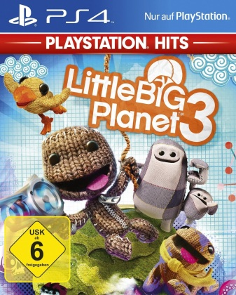 Little Big Planet 3 - Playstation Hits (German Edition)