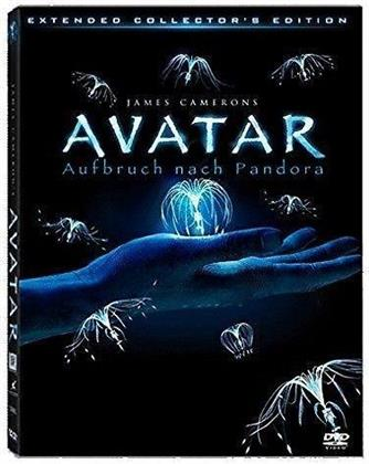 Avatar - Aufbruch nach Pandora (2009) (Lenticular Cover, Extended Collector's Edition, 3 DVDs)