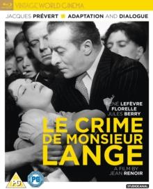 Le Crime De Monsieur Lange (1936) (s/w, Criterion Collection)