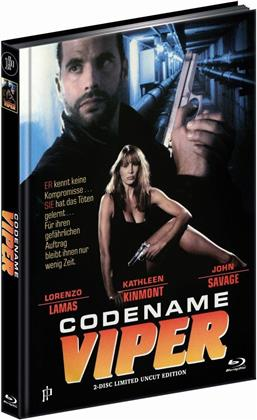Codename Viper (1993) (Limited Edition, Mediabook, Uncut, Blu-ray + DVD)
