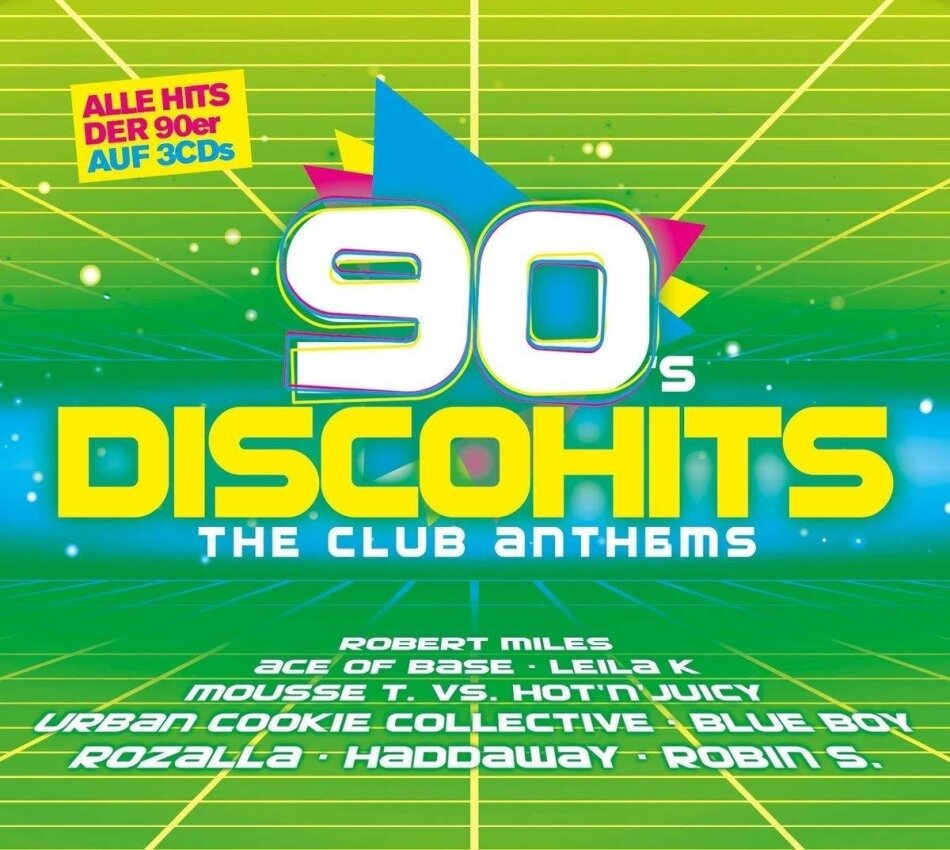 90s Disco Hits - The Club Anthems (3 CDs)