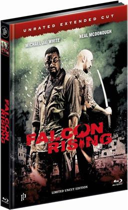Falcon Rising (2014) (Cover B, Extended Edition, Edizione Limitata, Mediabook, Uncut, Unrated)