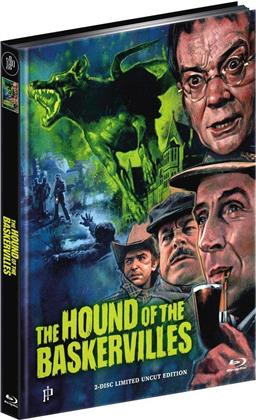 The Hound of the Baskervilles (1983) (Limited Edition, Mediabook, Uncut, Blu-ray + DVD)