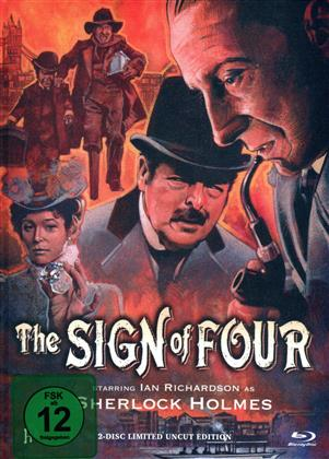 The Sign of Four (1983) (Limited Edition, Mediabook, Uncut, Blu-ray + DVD)