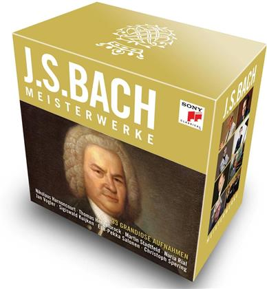 Johann Sebastian Bach (1685-1750) - Masterworks (33 CDs)