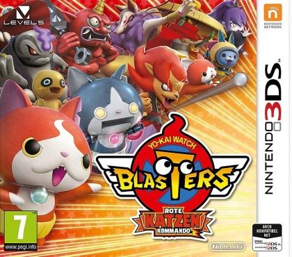 Yo-Kai Watch Blasters: Rote Katzen Kommando