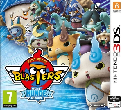 Yo-Kai Watch Blasters: Weisse Hunde Brigade