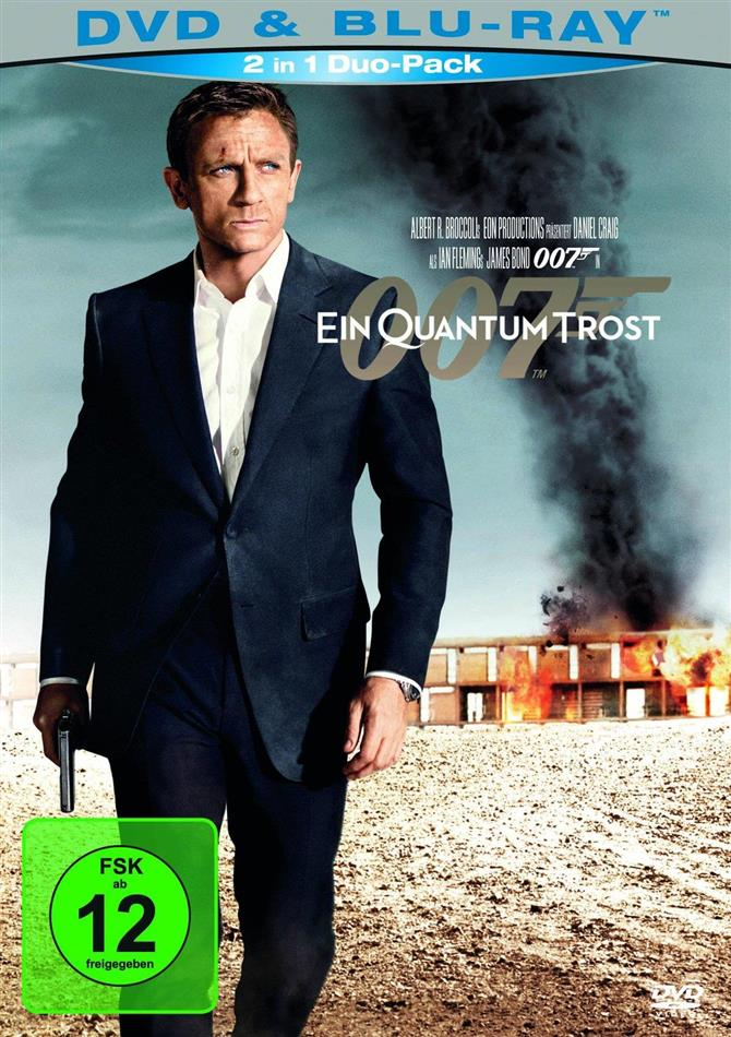 James Bond: Ein Quantum Trost (2008) (Blu-ray + DVD)