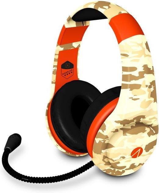 Warrior Multiformat Gaming Headset - camo/orange [PS4/XONE/NSW/PC/Mobile]