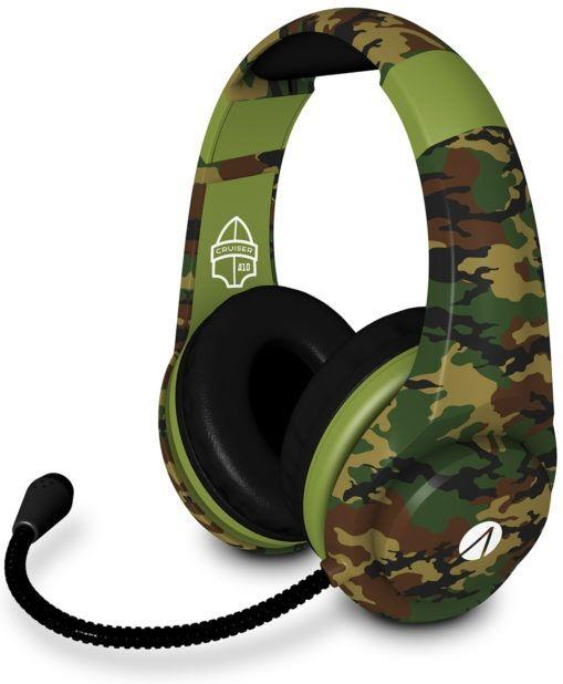 Cruiser Multiformat Gaming Headset - camo/green [PS4/XONE/NSW/PC/Mobile]