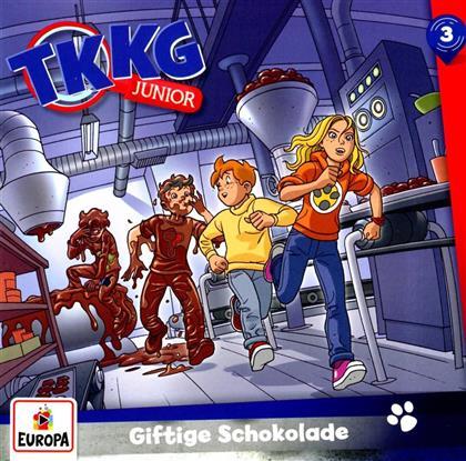 TKKG Junior - 003/Giftige Schokolade