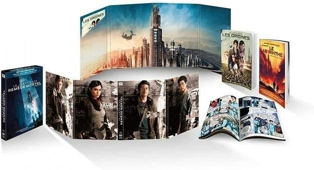 Le Labyrinthe 3 - Le remède mortel - Maze Runner 3 - The Death Cure (2018) (Collector's Edition, Blu-ray + DVD)