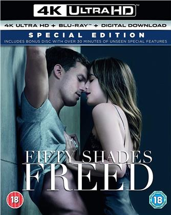 Fifty Shades Freed (2018) (4K Ultra HD + 2 Blu-rays)